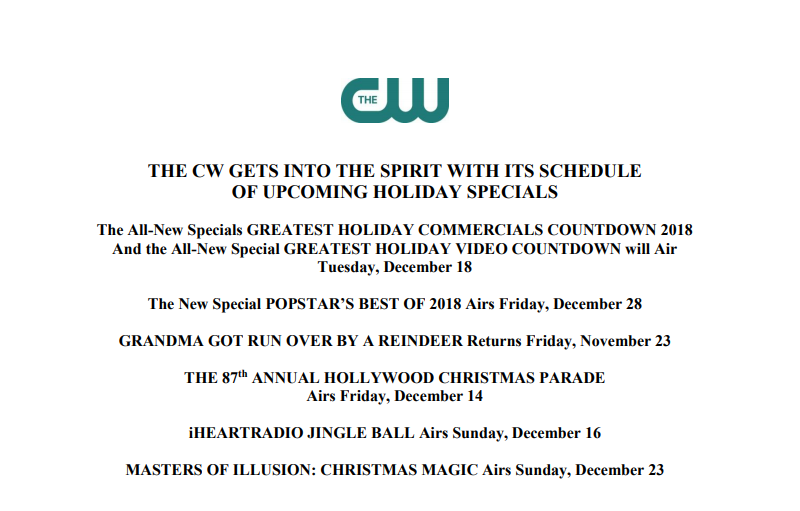 GCCW Gets Into The Spirit With Its Schedule Of Upcoming