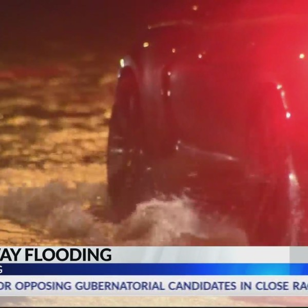 Causeway experiences flooding ahead of storms