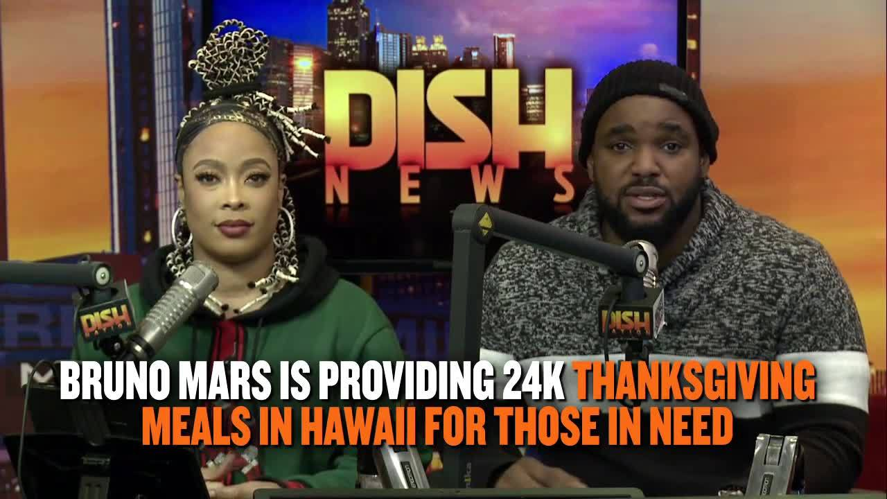 Dish Nation News: Bruno Mars Provides 24K Meals To Those In Need