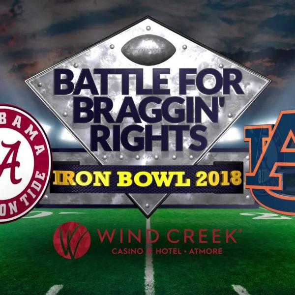Iron Bowl Special: Battle for Braggin' Rights