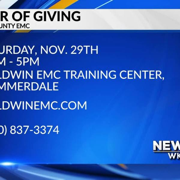 MARK YOUR CALENDAR: Baldwin County EMC Power of Giving