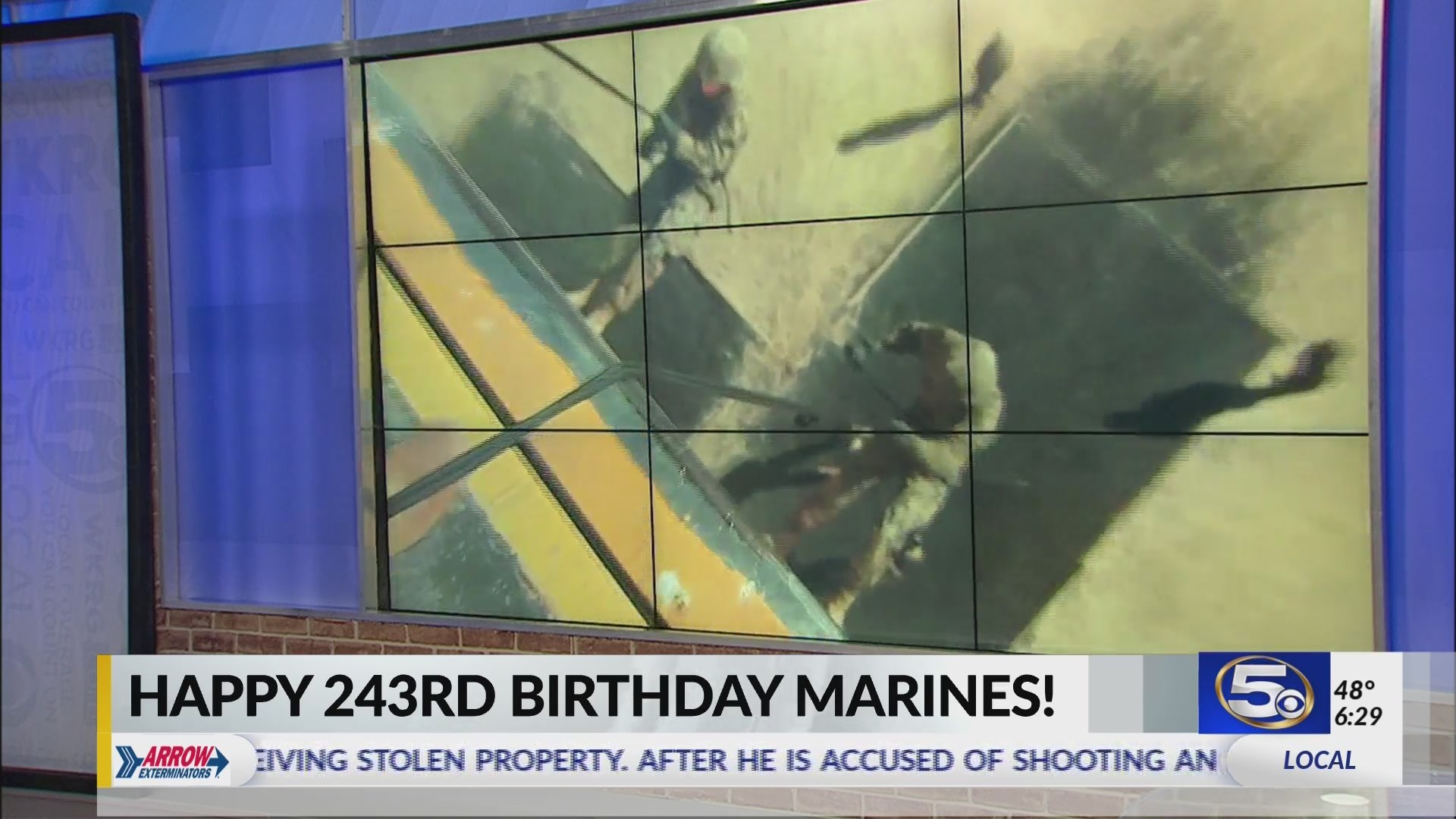 Marines celebrate 243rd birthday