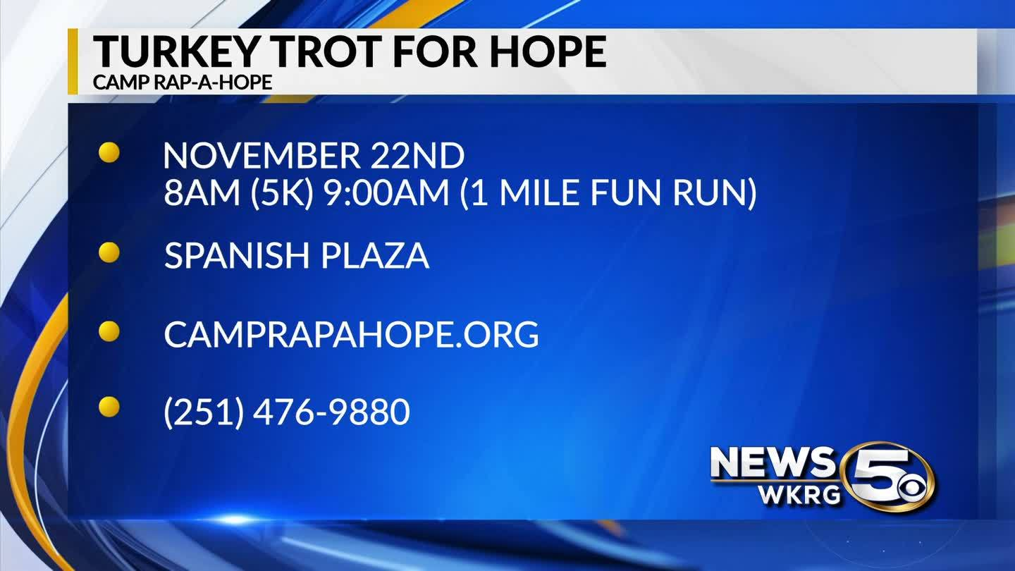 Mark Your Calendar: Turkey Trot for Hope