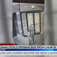 VIDEO: Woman wanted for questioning in connection with Fairhope church donation box theft