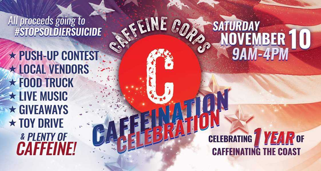 Local coffee shop celebrating 1st anniversary by helping