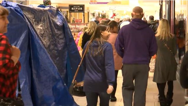 VIDEO: Shoppers pack Cordova Mall to find best Black Friday deals