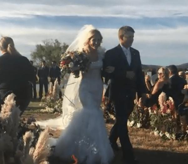 Newlyweds killed in chopper crash after wedding