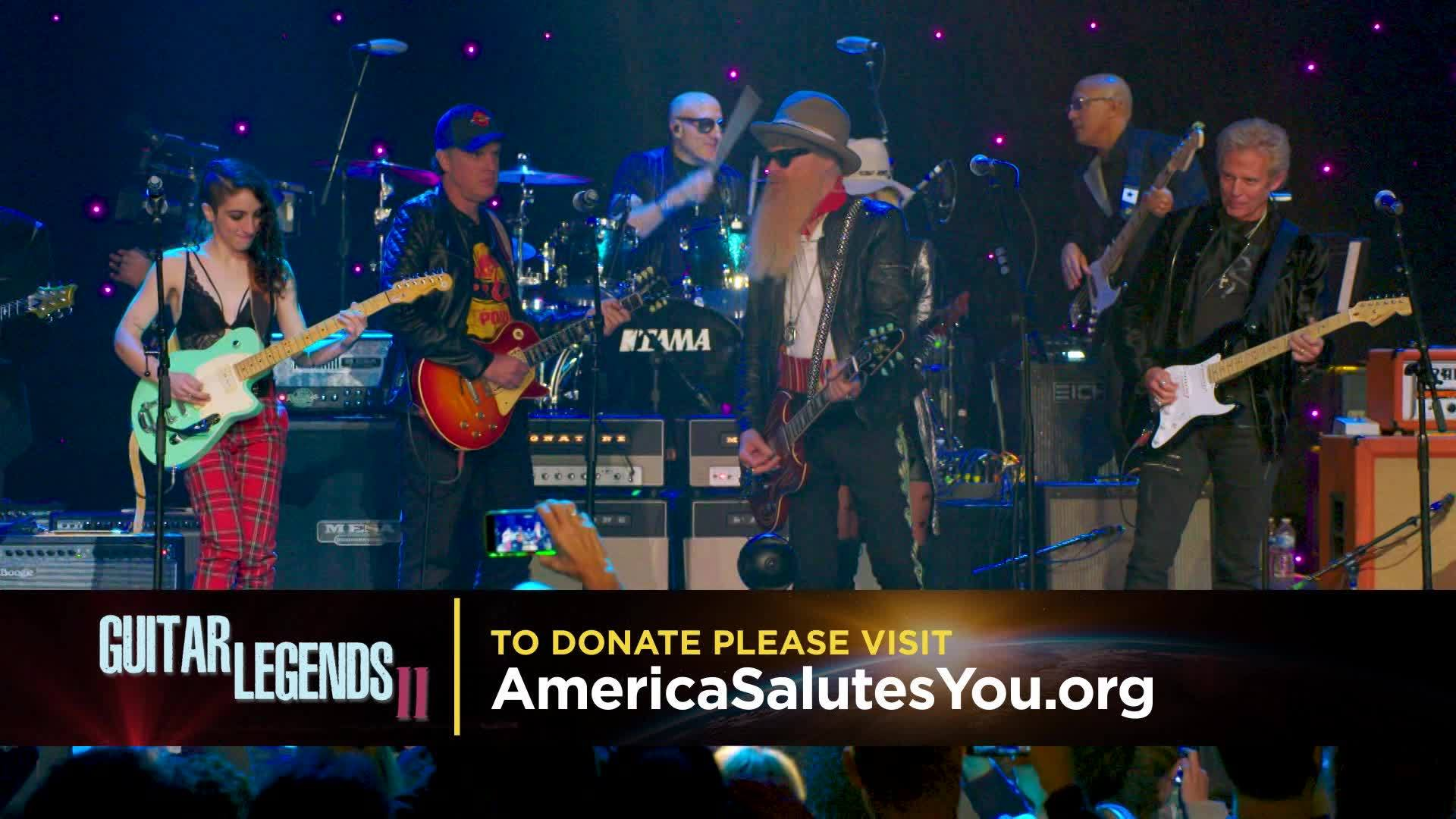 Be sure to catch the special presentation of America Salutes You Guitar Legends II on The Gulf Coast CW, this Saturday at 7PM!