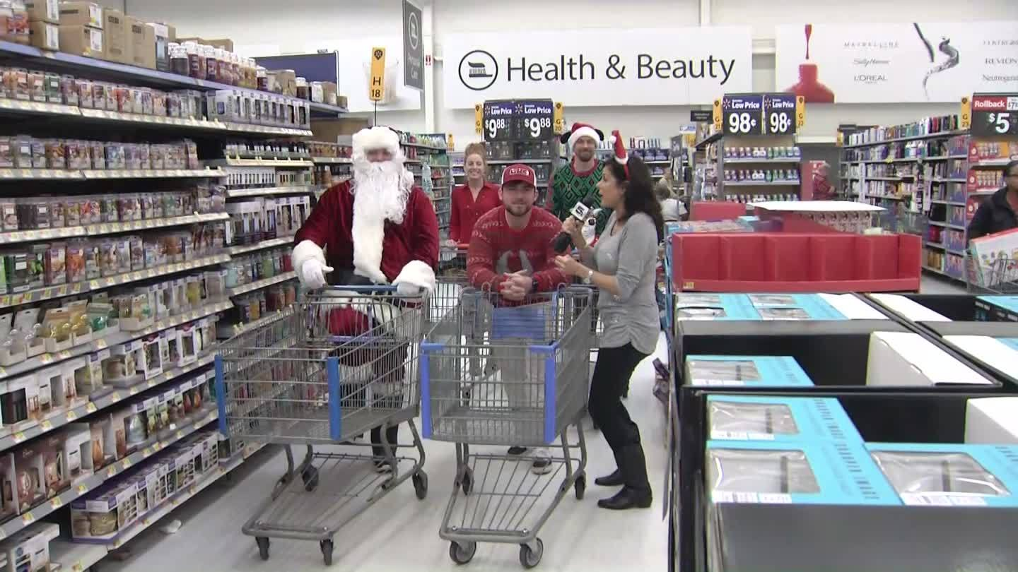 VIDEO: Rich's Car Wash toy drive shopping spree in Pensacola