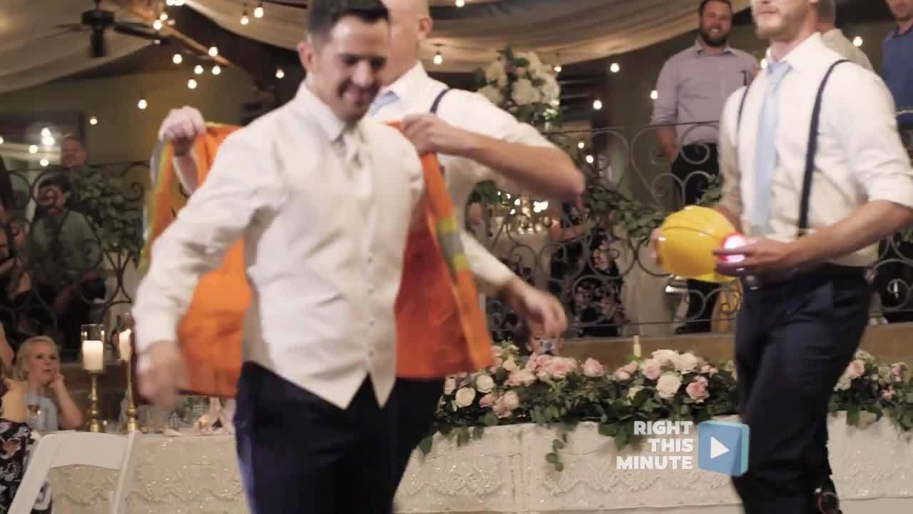 Right This Minute News Pop | This Groom Came Prepared