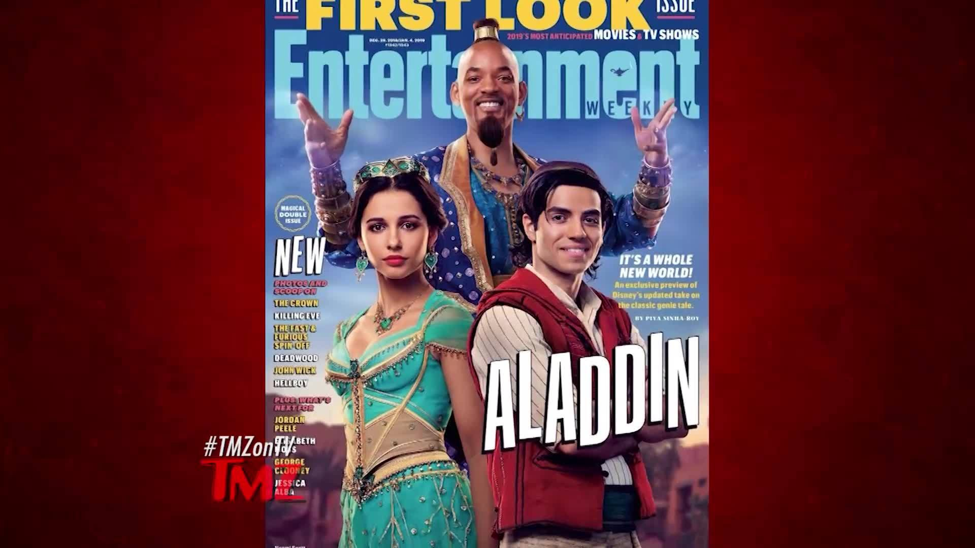 The first pictures of the new Aladdin movie have been released. According to TMZ, people aren't exactly... jazzed.