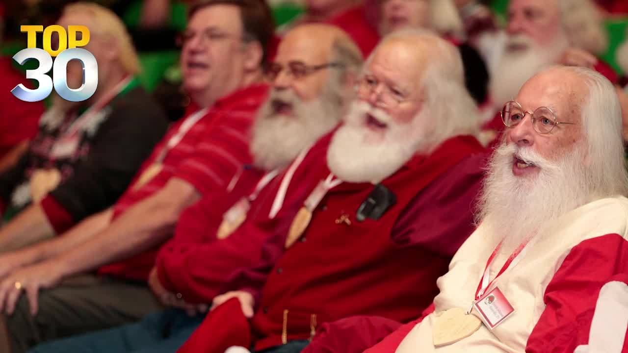 Top 30 shares a great story about a real-life Santa School in Michigan that's been turning out perfect Santas for 81 years!