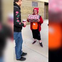 VIDEO: High school senior gets surprise gift for classmate with special needs