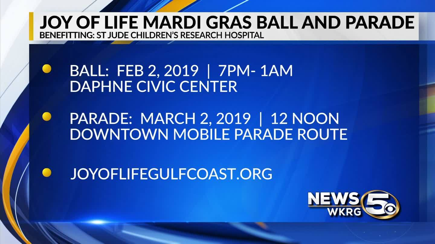 2019 Joy of Life Mardi Gras Ball and Parade