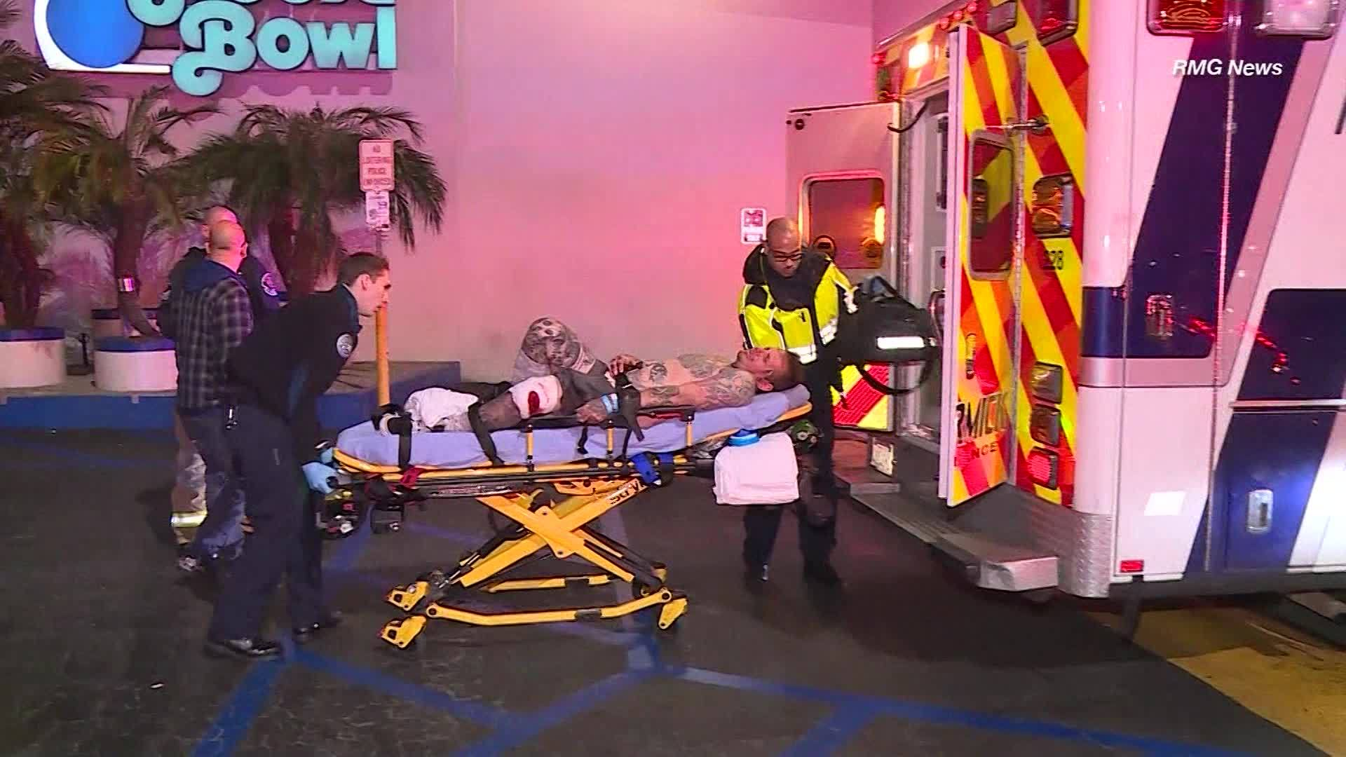 911 calls for California bowling alley shooting