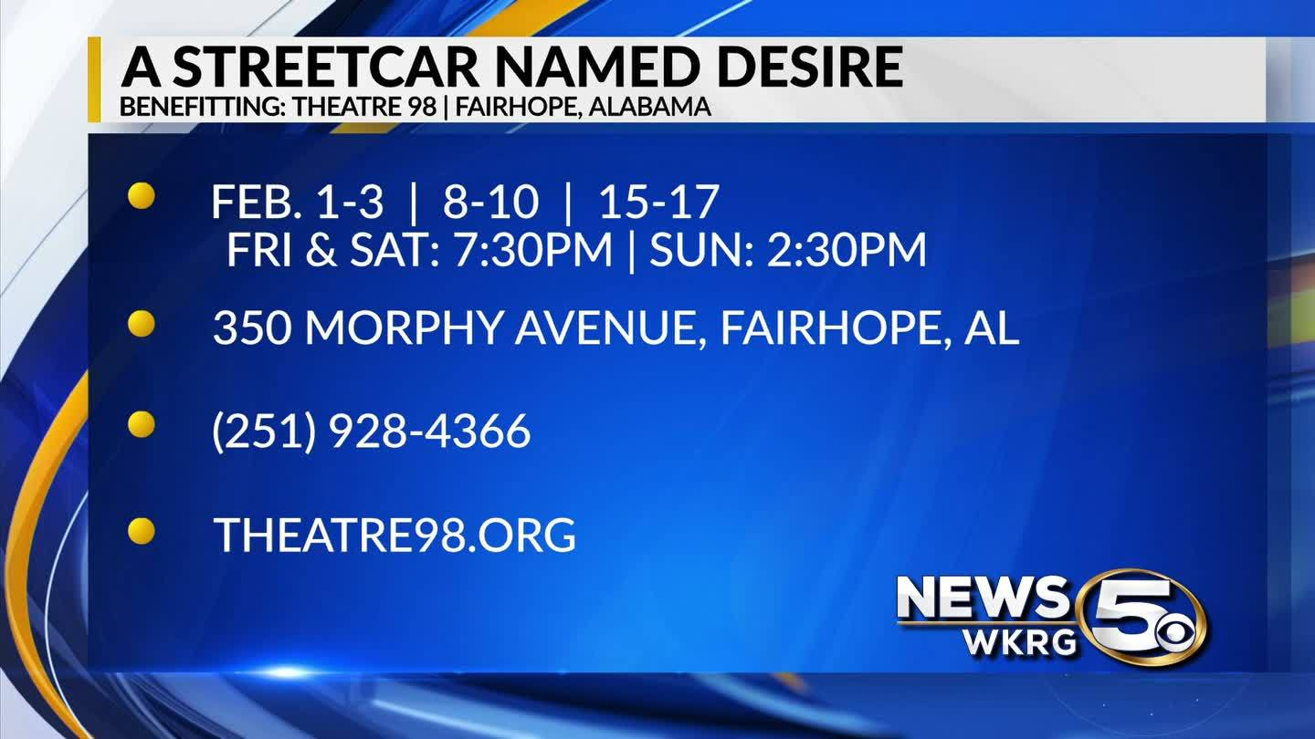 """A Streetcar Named Desire"" coming to Fairhope"