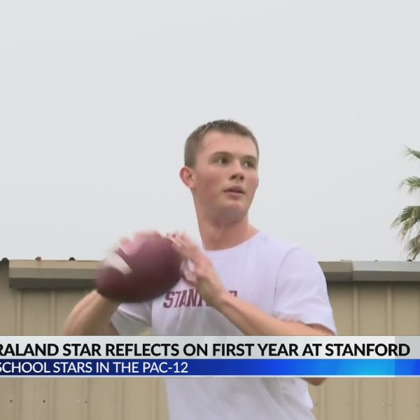 Saraland QB at Stanford