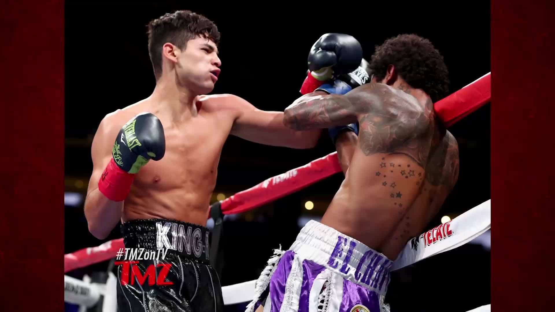 Tmz On Demand Ryan Garcia Gives A S O To Selena Gomez