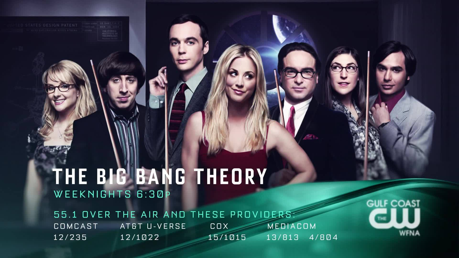 The Big Bang Theory | Now at a new time on The GCCW
