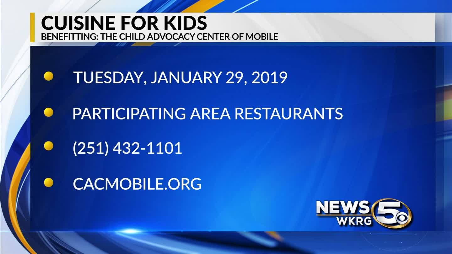 "Tuesday's ""Cuisine for Kids"" benefits abused children"