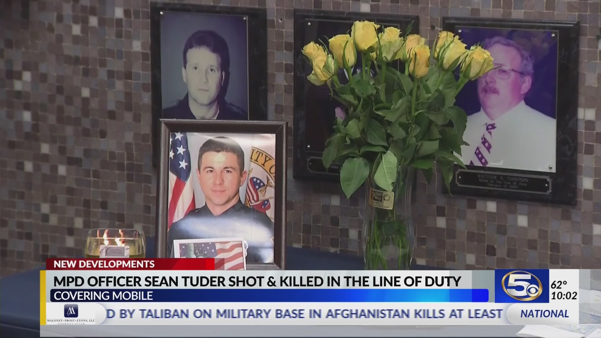 VIDEO: New developments released in Officer Tuder's death investigation