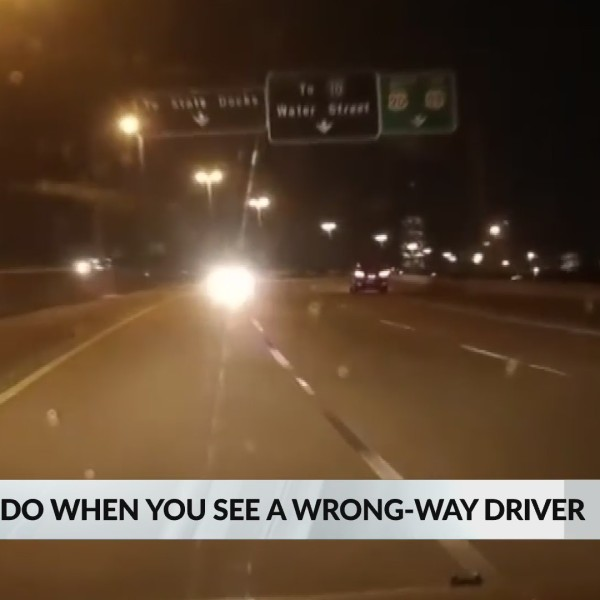 VIDEO: What to do if you see a wrong way driver