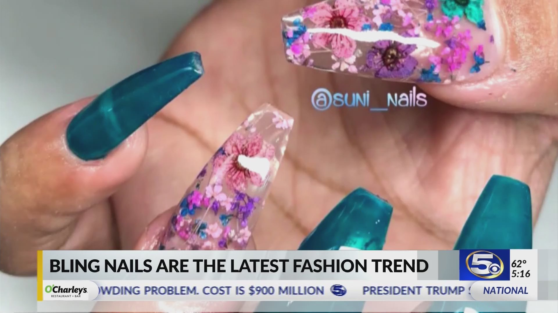 Blinged Nails Soar In Popularity Thanks To Cardi B