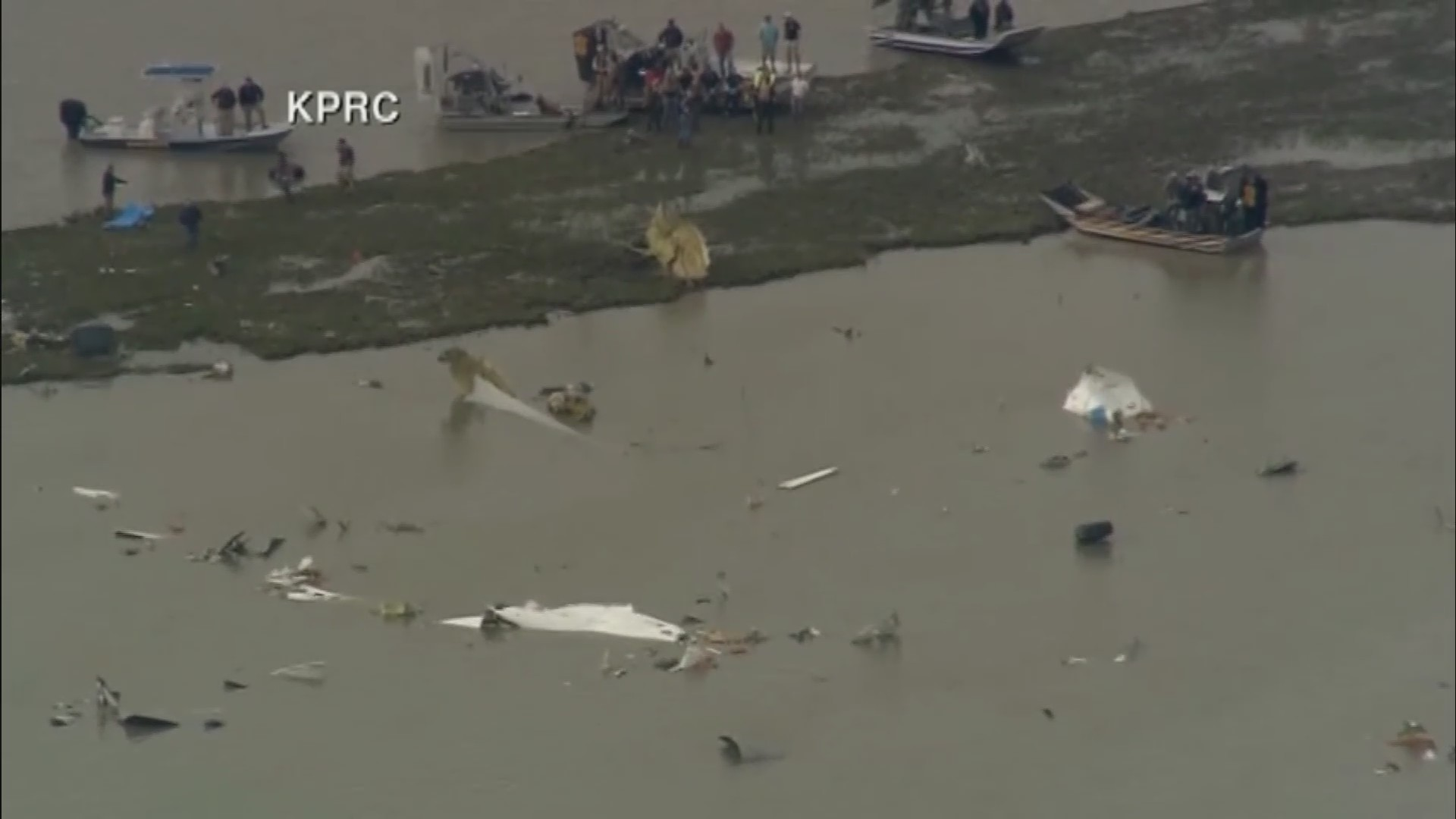 Boeing 767 cargo jetliner with 3 aboard crashes near Houston