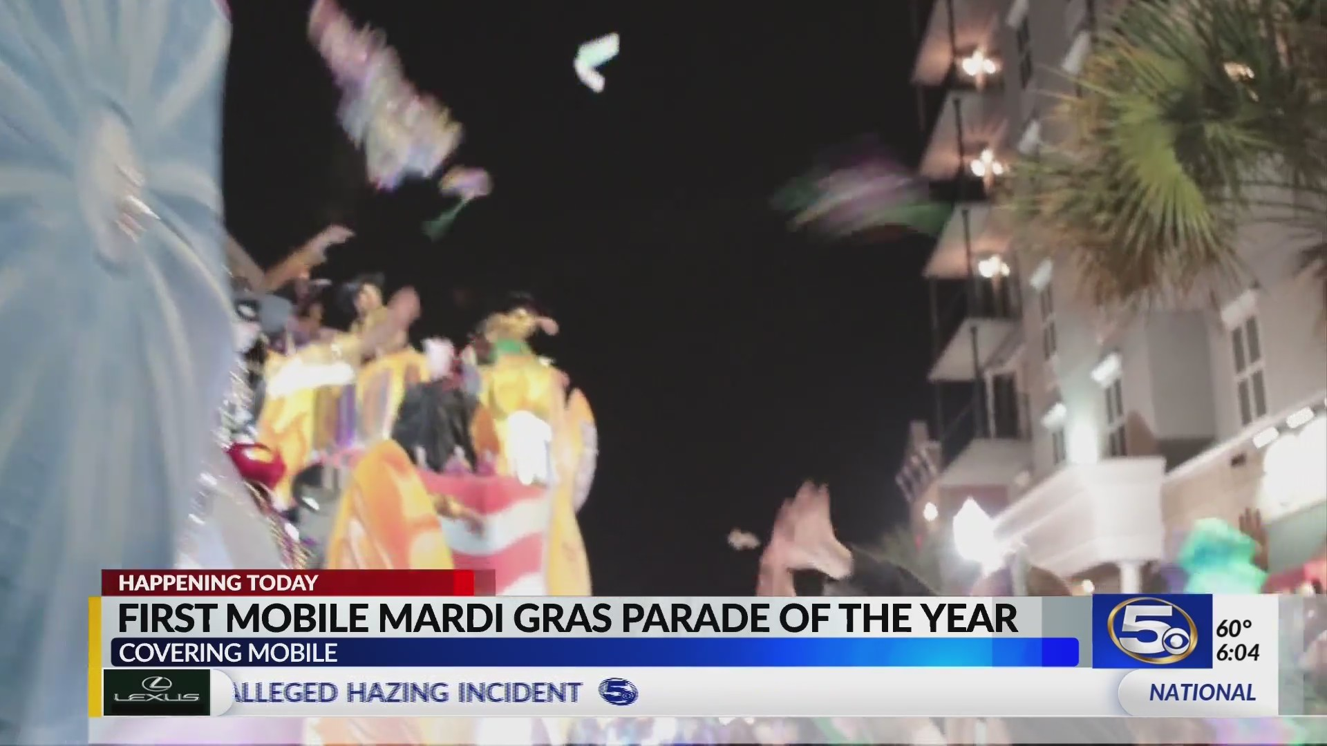 Conde Cavaliers kick of the Mobile Mardi Gras Season tonight