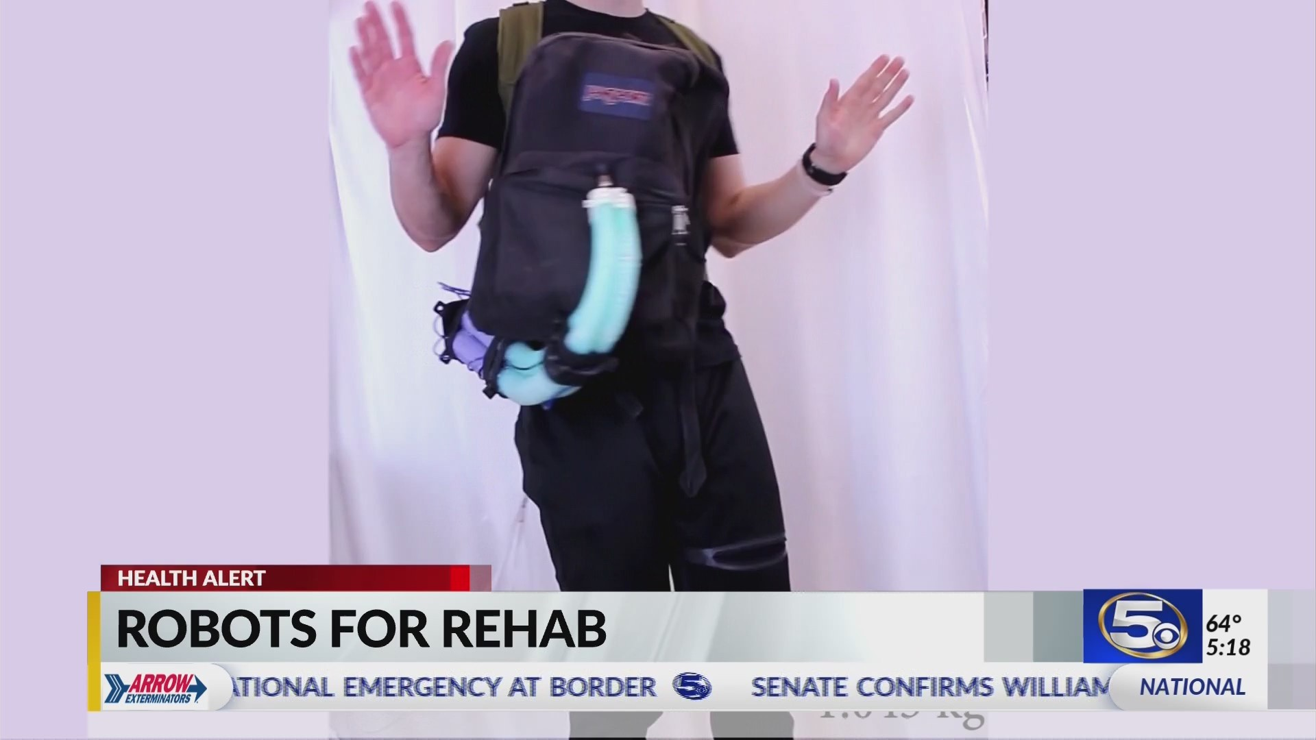 Robotic rehab could change the lives of stroke survivors