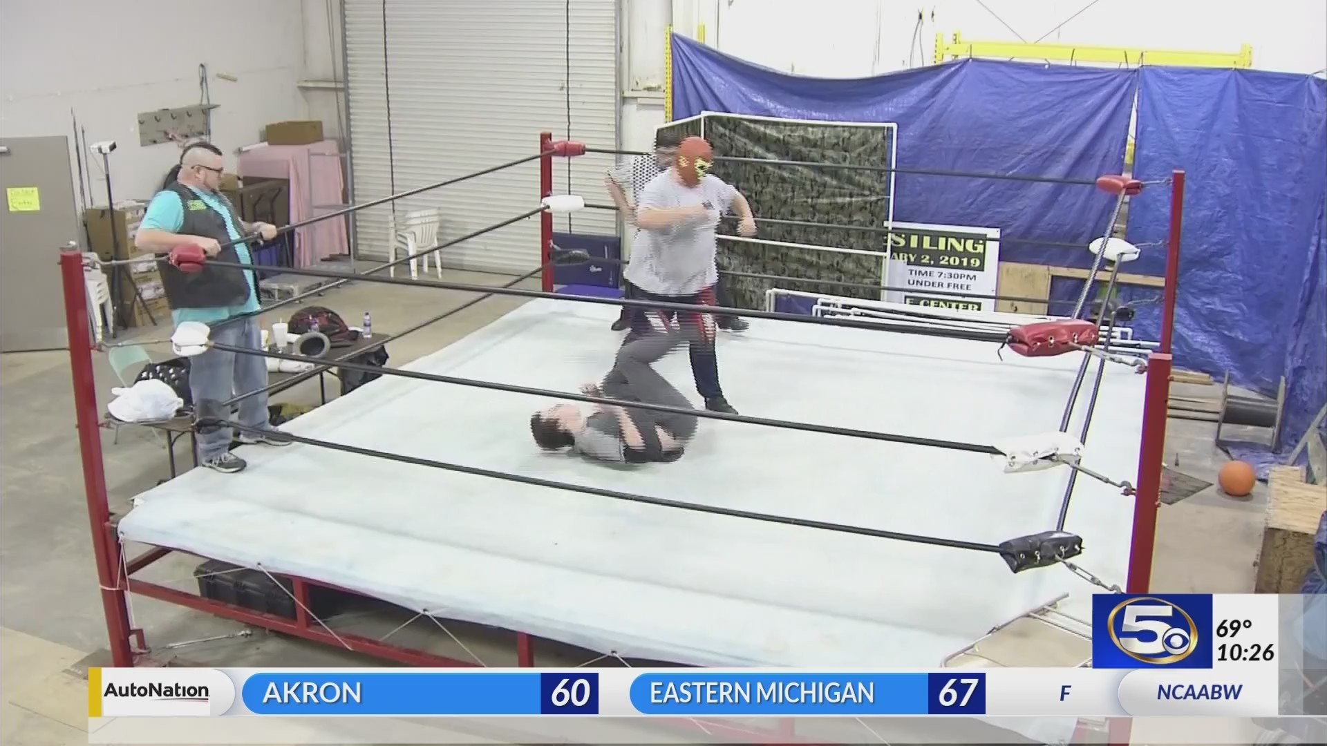 VIDEO: Alabama Wrestling Academy opens the ring to future stars