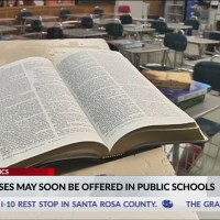 VIDEO: Alabama lawmaker wants Bible classes taught as an elective