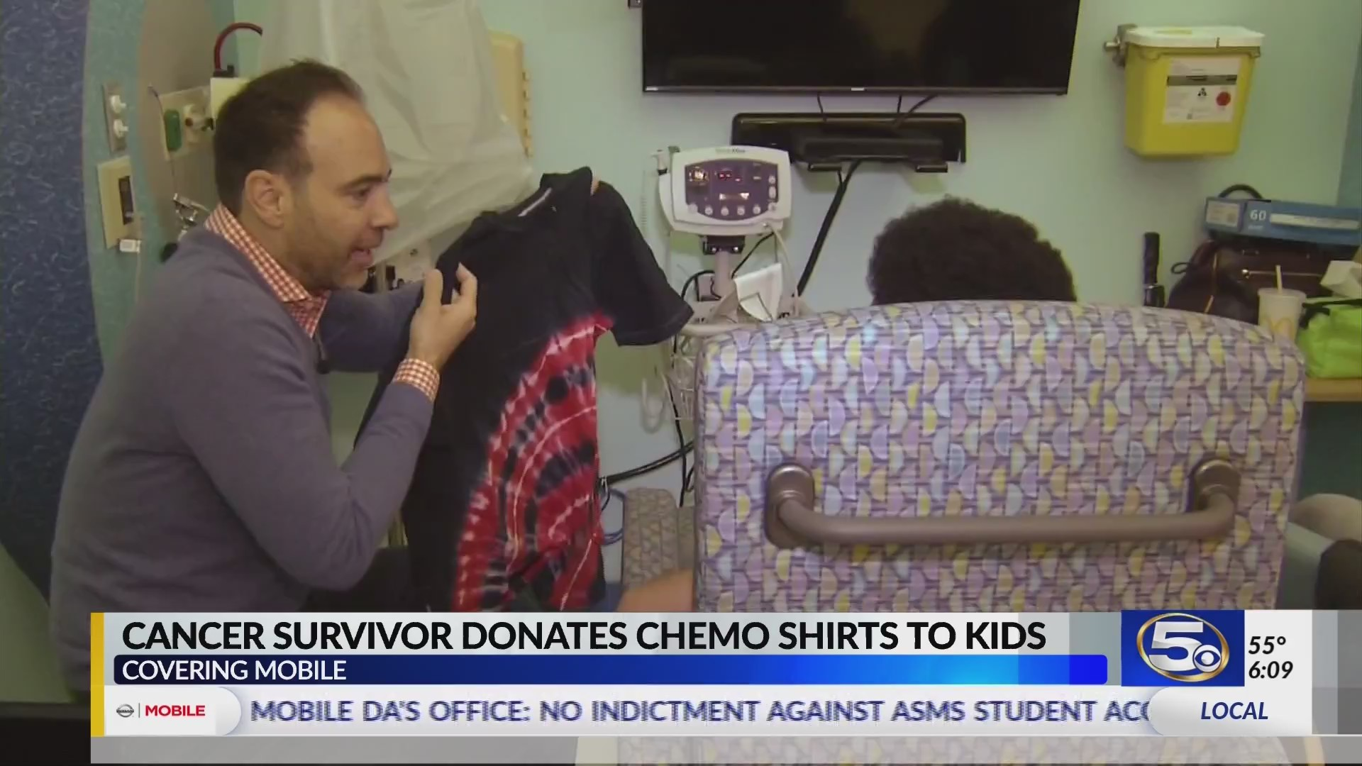 VIDEO: Cancer survivor gives young chemo patients a gift to make receiving treatment easier