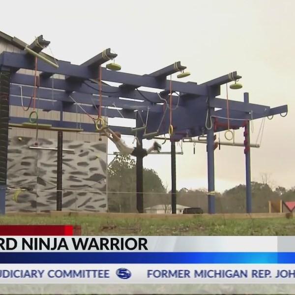 VIDEO: Drexel on the Road: Backyard ninja warrior