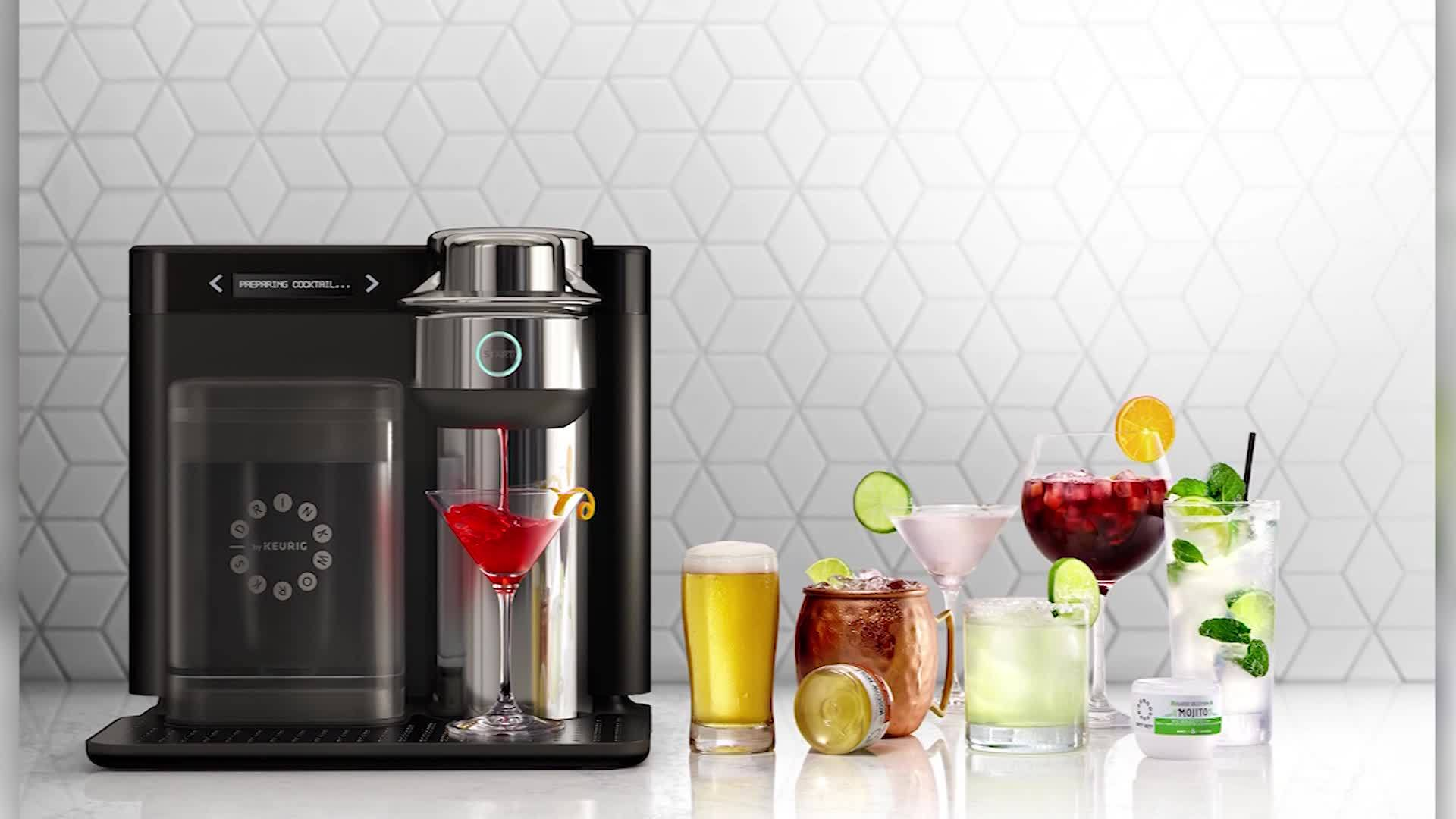 VIDEO: Keurig has come out with a machine that makes cocktails instead of coffee