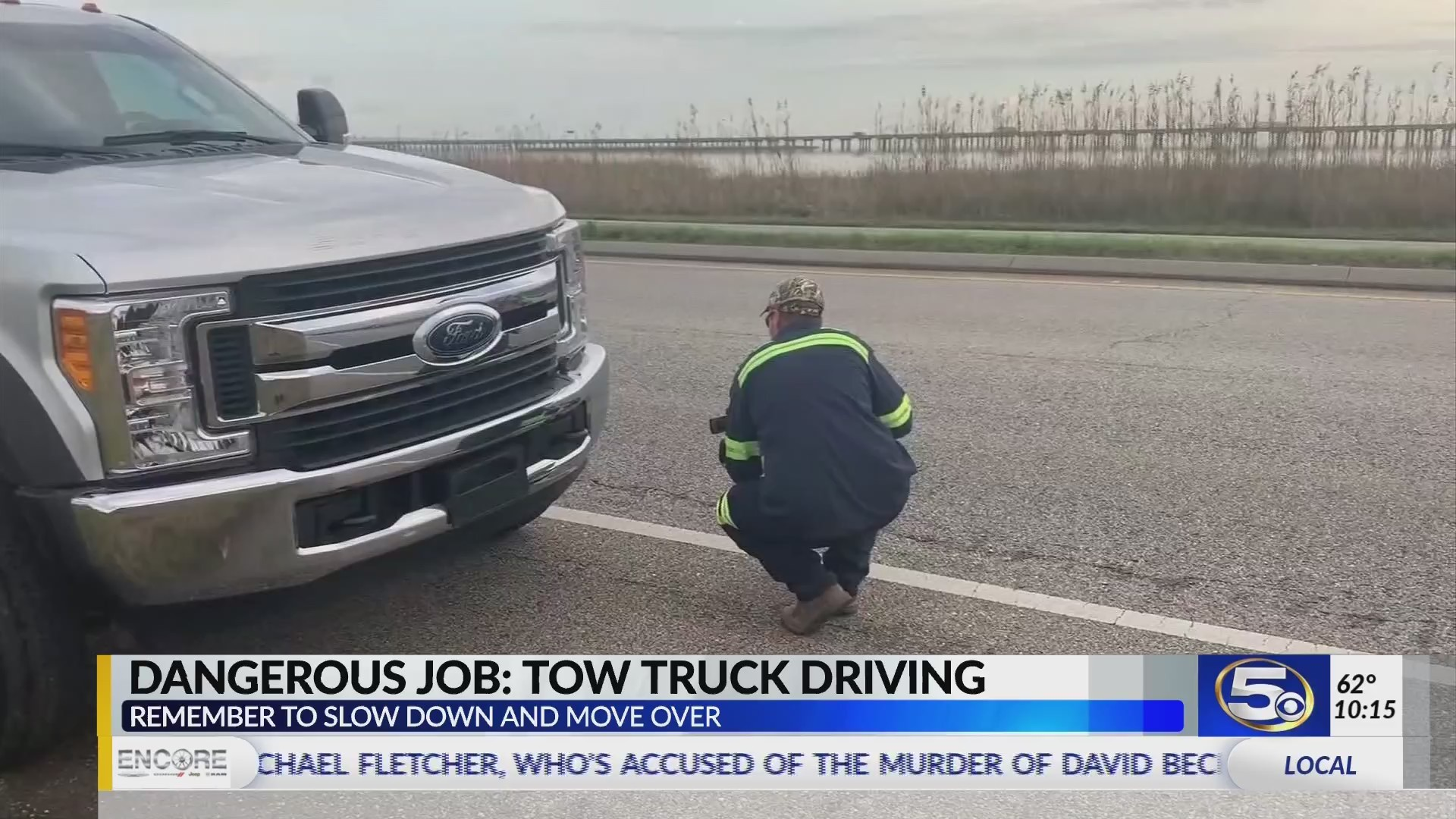 VIDEO: Taking a look at the daily dangers of tow truck drivers