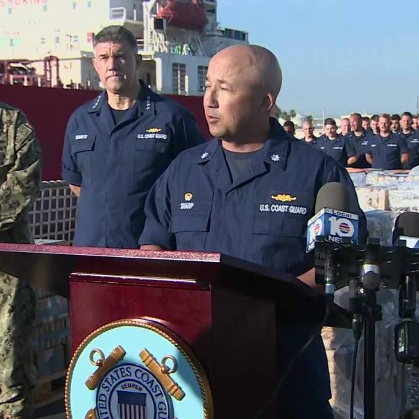 VIDEO: US Coast Guard offload 34,780 pounds of cocaine