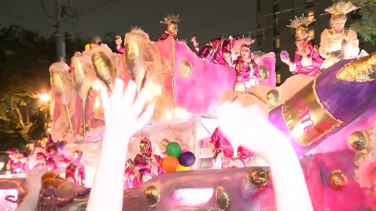 Witnesses describe the moments shots rang out after Mardi Gras parades