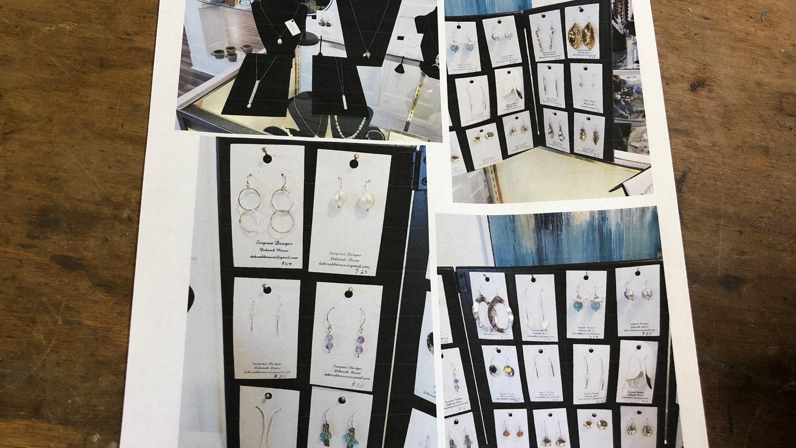 Jewelry stolen from Innova Arts
