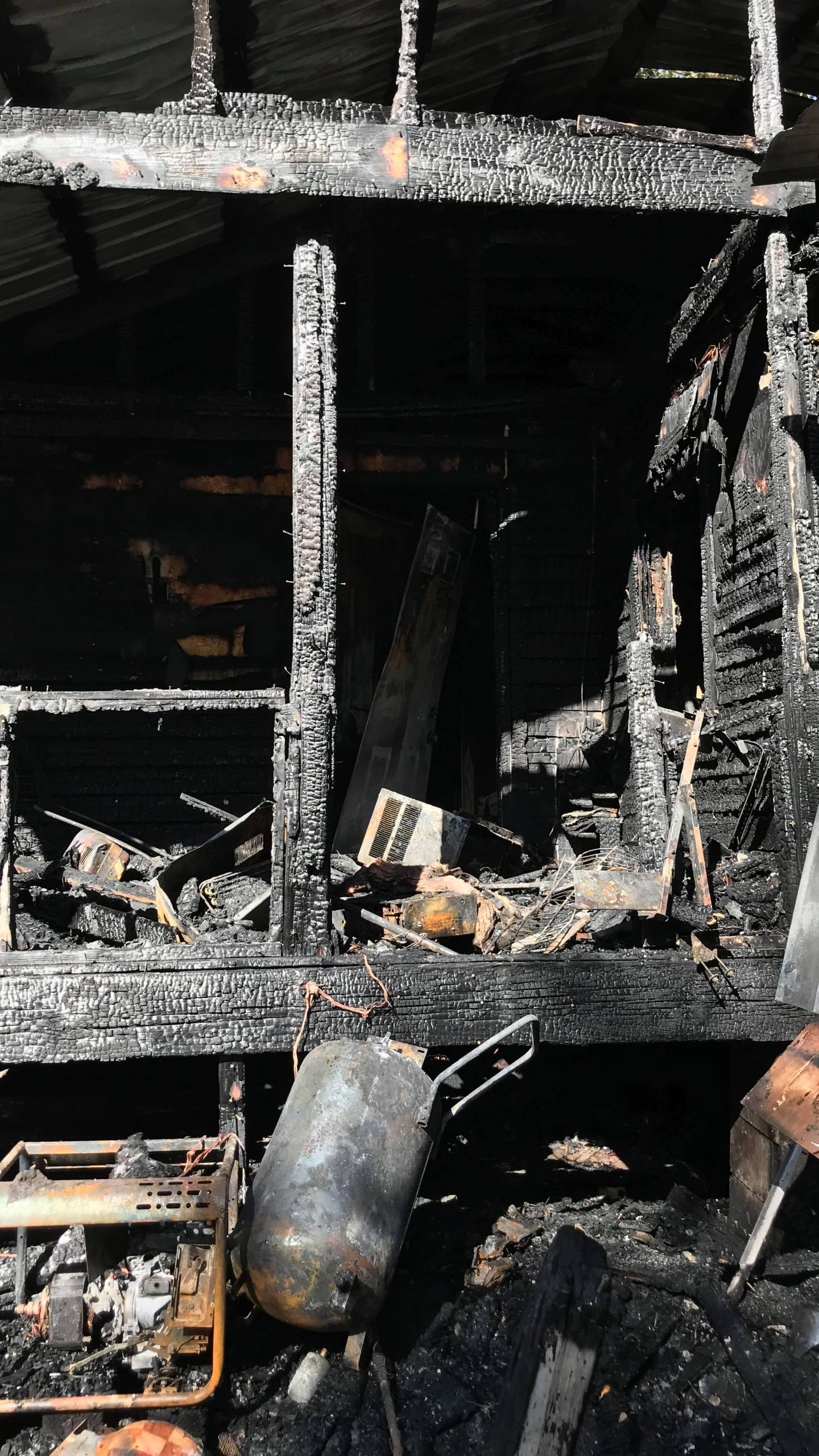 Semmes House Fire 1