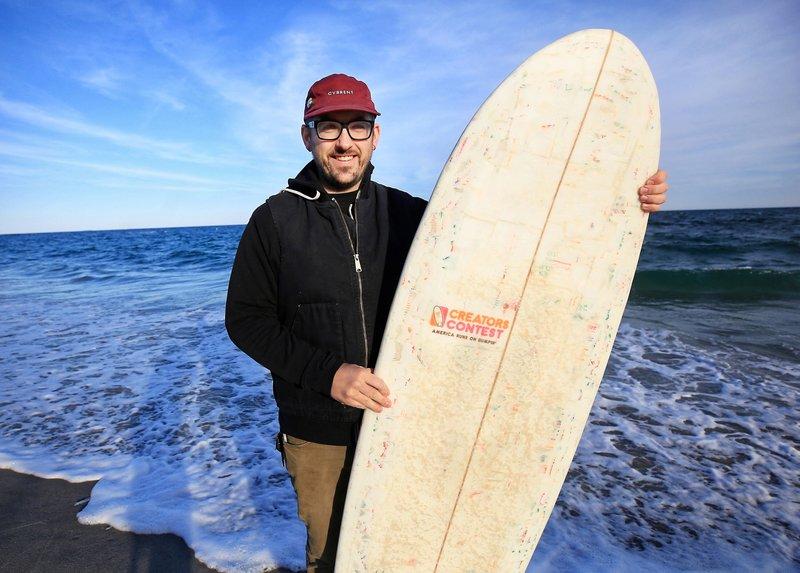 Dunkin Donuts surf board_1553974512786.jpeg.jpg