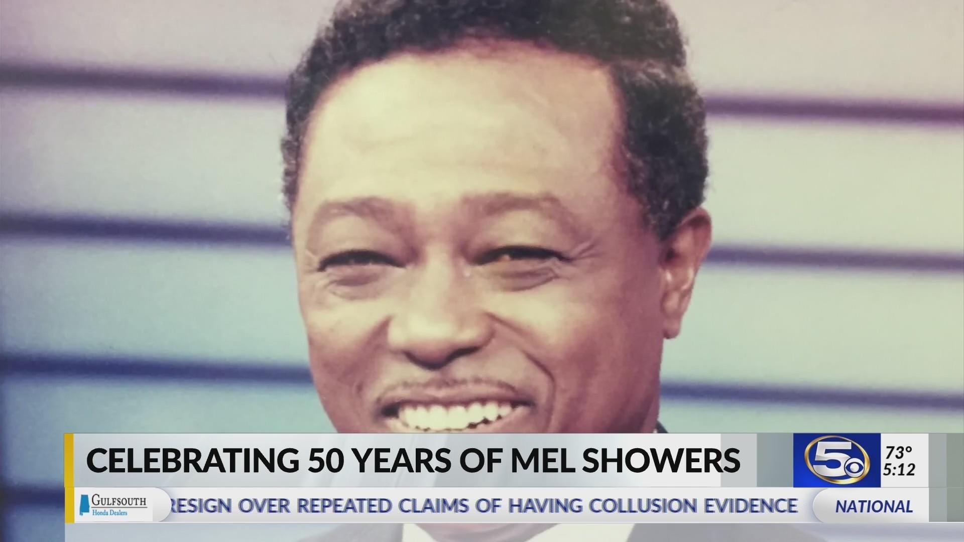 Mel Showers celebrates 50th year at WKRG-TV