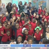 Morningside Elementary School on Kidcam with Chief Meteorologist Alan Sealls