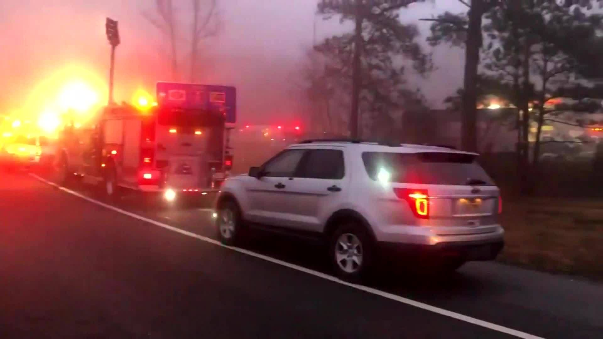 One dead following charter bus crash on I-95 in VA