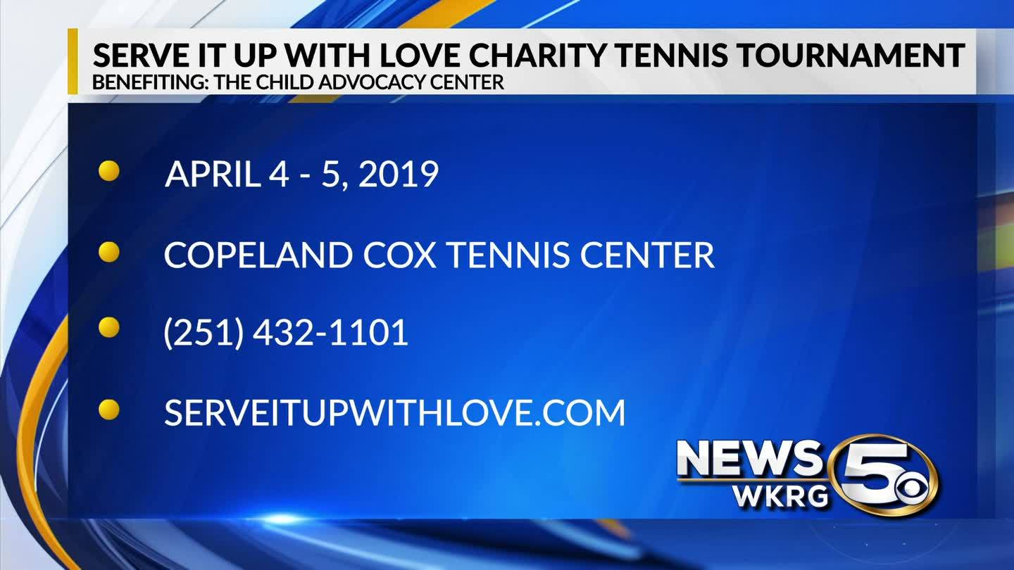 Serve It Up With Love Charity Tennis Tournament