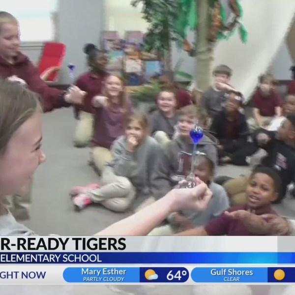 Thomasville Elementary School on kidcam with Alan Sealls