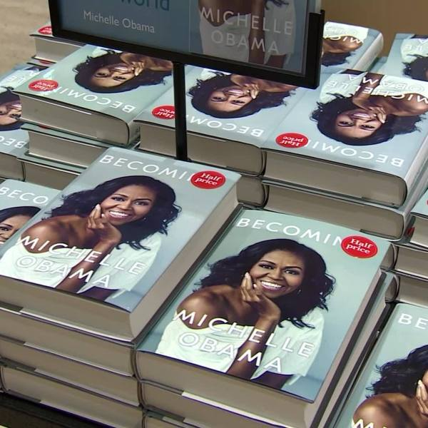 VIDEO: Michelle Obama's 'Becoming' could become the best-selling memoir in history