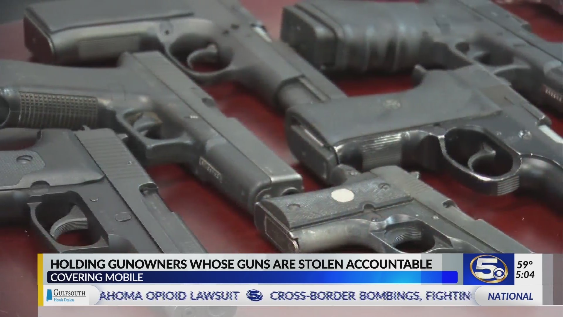 VIDEO: Mobile City Councilman leads push to punish irresponsible gun owners