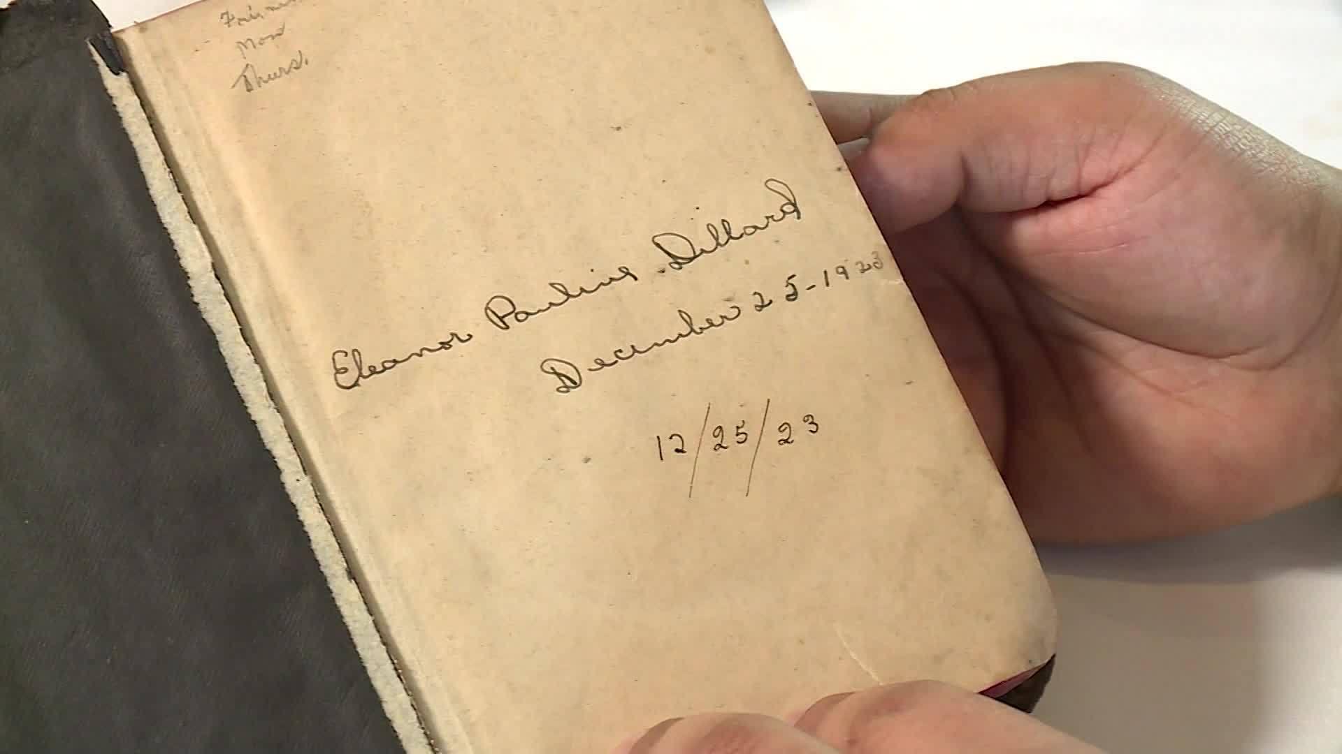 VIDEO: Near century old Bible found in restaurant