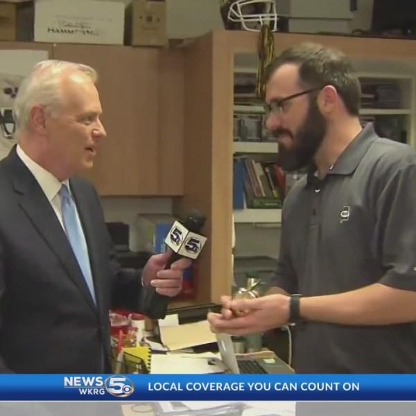 VIDEO: Student calls Golden Apple winner mentor, father figure